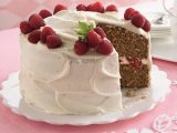 Spiced Raspberry Cake- Easter Treat