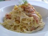 Zesty smoked salmon tagliatelle: Luxury made easy